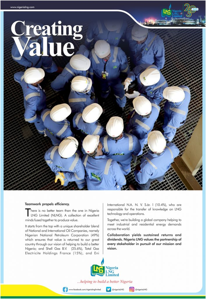 Nigeria LNG Limited: Creating Value – Teamwork NLNG Corporate Ad Teamwork 707x1024