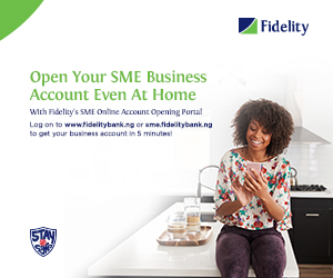 Fidelity Bank SME Business Account